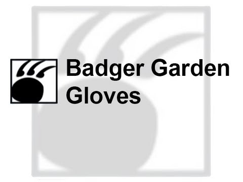 Women best gardening glove Organic gardening tools claw Badger