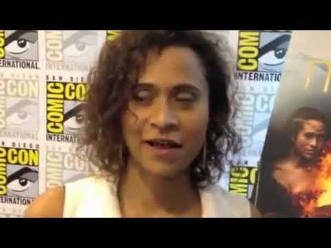 Angel Coulby Comic Con 2012