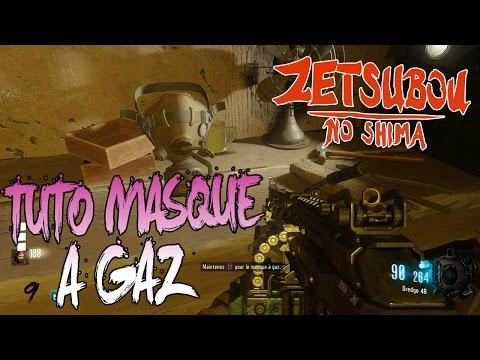 ZETSUBOU NO SHIMA ZOMBIES | CONSTRUIRE LE MASQUE À GAZ | TUTO BO3 EASTER EGG