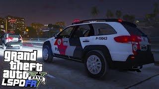 GTA V Rotina Policial - Tentativa de sequestro #02