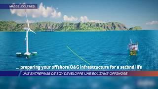 Yvelines |Une entreprise de SQY développe une éolienne offshore