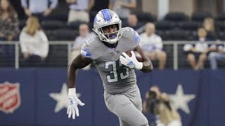 Is Kerryon Johnson Every Down Running Back For Detroit Lions?