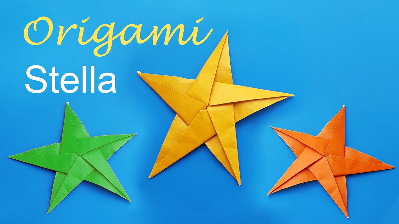 Origami stella di natale youtube for Stelle di natale