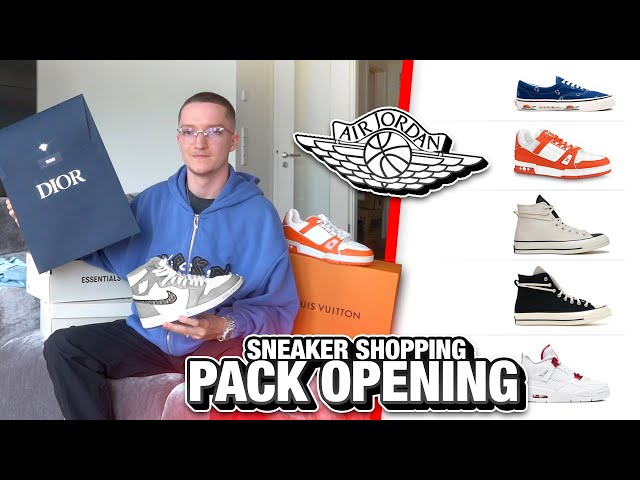 XXL Sneaker Shopping (+ AIR DIOR!) - justin