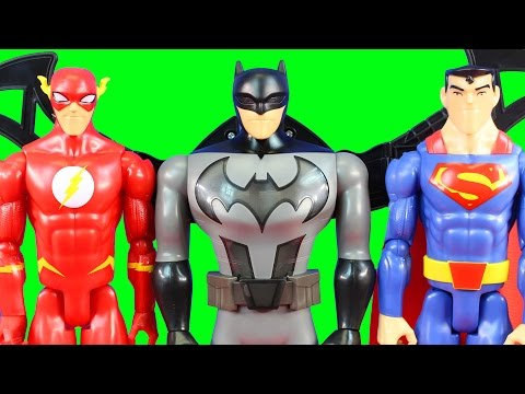 Justice League Action Battle Wing Batman With Batmobile Superman And The Flash Toys