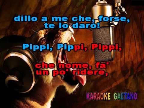 Isa Di Marzio Pippi calzelunghe Con cori Karaoke