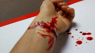 Kurban Kazası Bileğimi Kestim  (Kendin Yap, Anlatımlı)