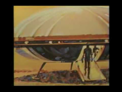 UFO Landing at Holloman AFB a mix of 2 TV clips