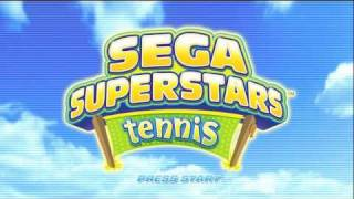 Sega Superstars Tennis (Intro)