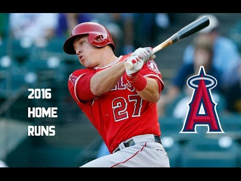 Mike Trout | 2016 Home Runs