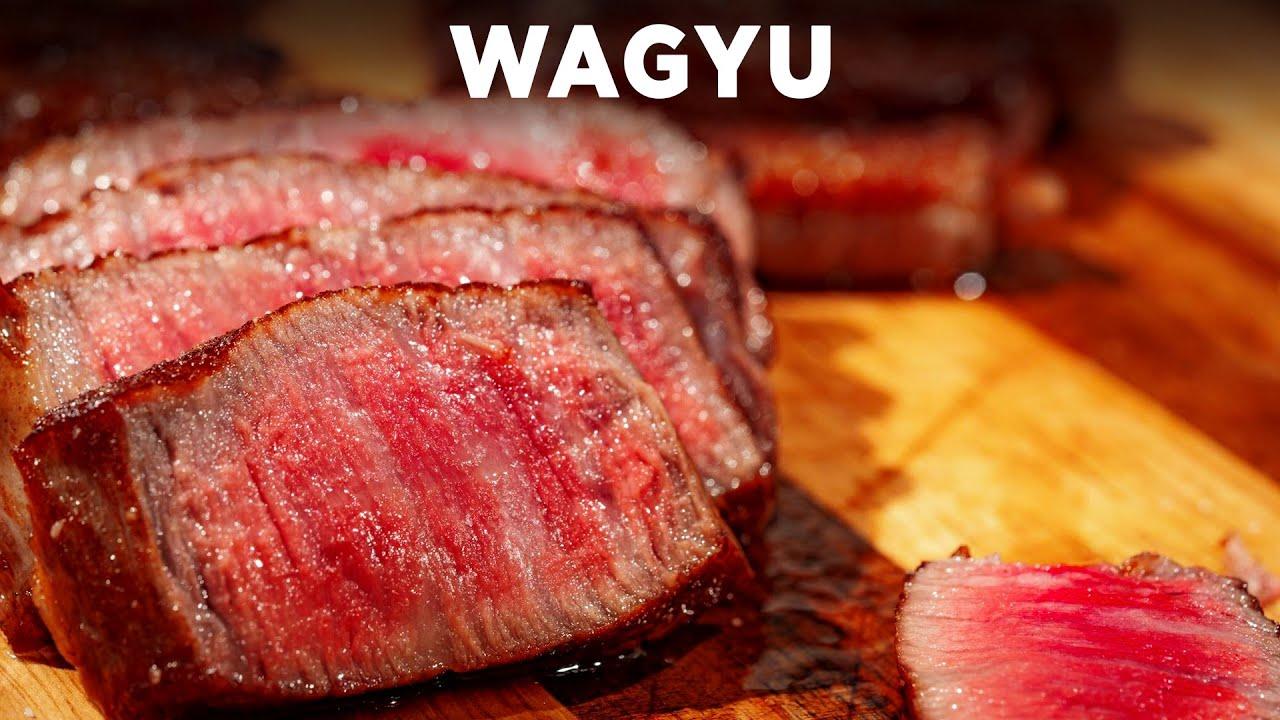Cooking Wagyu on 500 Degree Salt Rock