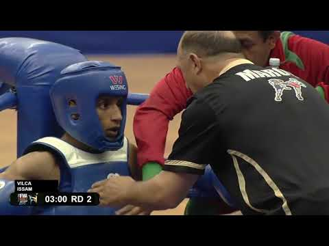 Amateur Muaythai World Championships 2016 Morocco V Peru At Under 23 Level