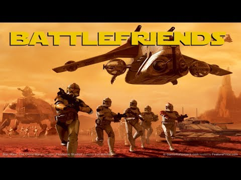Battlefriends! (Star Wars Battlefront split-screen)