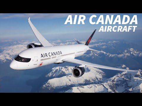 AIR CANADA Outlines FUTURE AIRCRAFT Plans