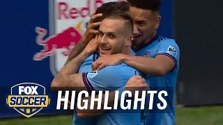 Ben Sweat extends NYCFC lead to 2-0 | 2017 MLS Highlights