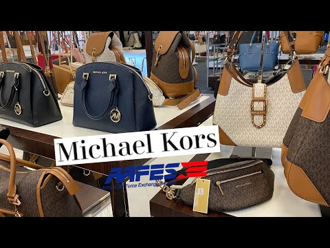 Military Exchange Michael Kors Bags Shopping (AAFES) | Shop With Me