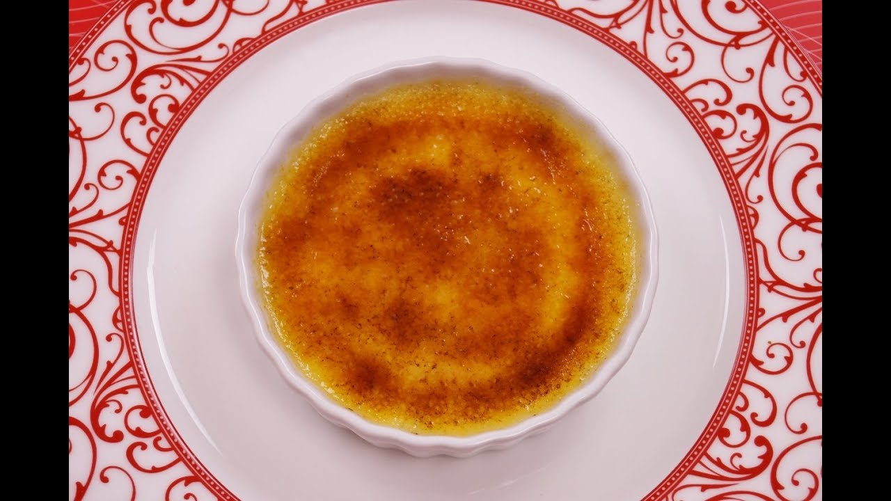 How To Make Creme Brulee Recipe Creme Brulee From Scratch Dishin