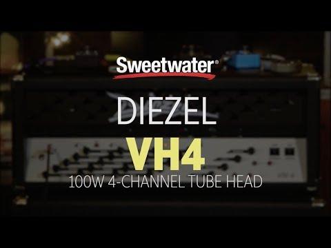 Diezel VH4 100W 4-channel Tube Head Review