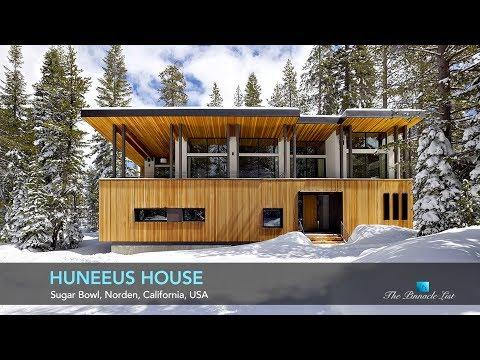 Huneeus House Sugar Bowl, Norden, Ca, Usa Luxury Home