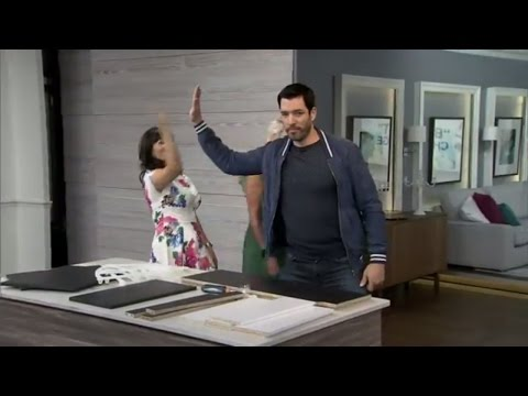 'The Property Brothers' face off in a DIY challenge