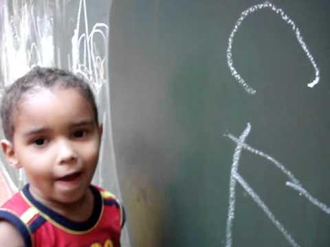 Maternal 1 A - escrita aos 3 anos