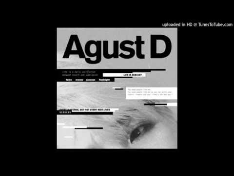 Agust D- ( Suga/Min Yoon Gi) AUDIO MP3 + DOWNLOAD  MIXTAPE