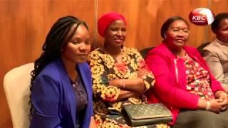 Margaret Kenyatta commissions new water treatment plant