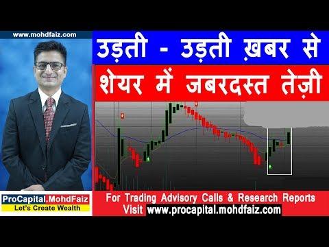 उड़ती - उड़ती ख़बर से शेयर में जबरदस्त तेज़ी   Latest Share Market News In Hindi