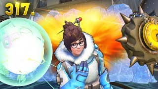RIP MEI.. | Overwatch Daily Moments Ep. 317 (Funny and Random Moments)