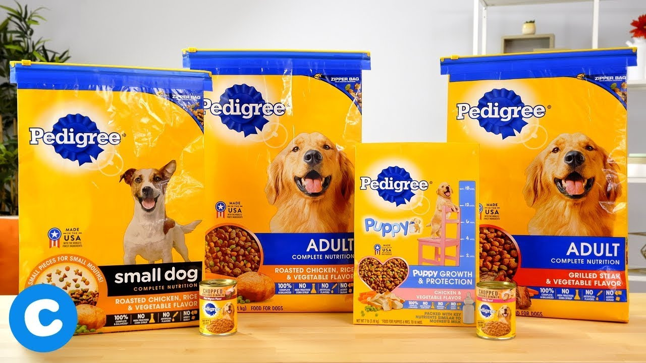 Pedigree Dry And Wet Dog Food Youtube
