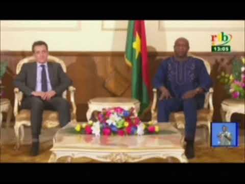 RTB / Audience du premier ministre avec une délégation de l'agence française