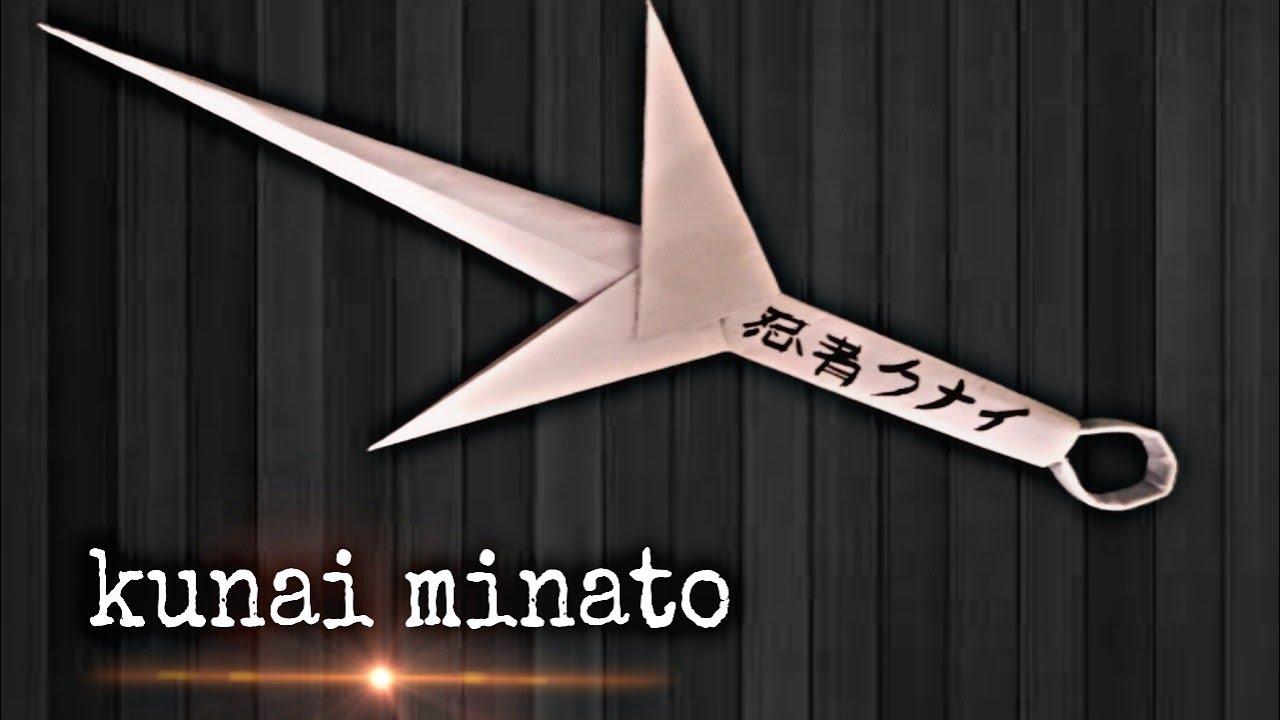 EASY Origami Kunai Knives -Naruto- HD - YouTube | Origami easy ... | 720x1280