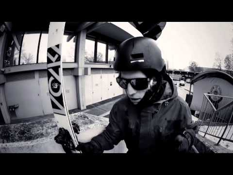 "Urban Freeskiing in Munich w/ Bene Mayr - ""Kids in the Streets"""