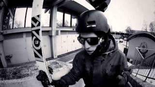 Red Bull: Urban Freeskiing in Munich w/ Bene Mayr -