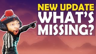 *NEW* UPDATE: WHAT FORTNITE IS MISSING! | HIGH KILL FUNNY GAME- (Fortnite Battle Royale)