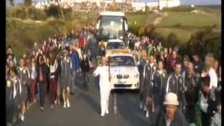 BBC Breakfast - 2012 Olympic Torch Relay Day 1 (19th May 2012)