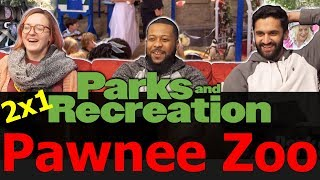 Parks and Recreation - 2x1 Pawnee Zoo - Reaction