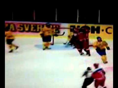 Хоккей. Шведские хоккейные игры 2013 Швеция-Россия 1:4
