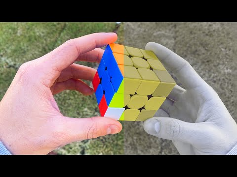 Colorblind solving Rubiks Cube but YOU'RE colorblind too