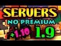 MEJORES SERVERS de MINECRAFT 1.9 y 1.10 NO PREMIUM - SIN LAGG | Con Survival, KitPvP, Creativo... #3