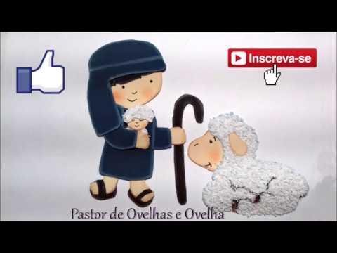 Pastor E Ovelha Em Eva Com Molde E Passo A Passo Youtube