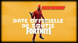 FORTNITE: OFFICIAL DATE OF PACK INFERNO