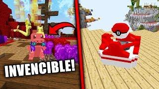 NOS ENFRENTAMOS A UN POKEMON INVENCIBLE!!   (Minecraft POKEWARS)