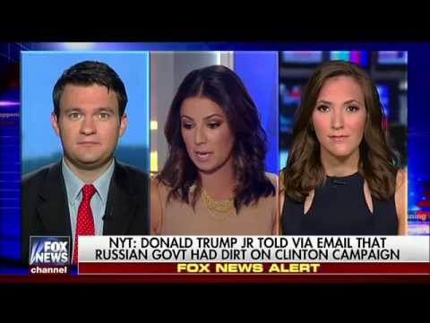 Thumbnail: Happening Now Fox News reacts to Donald Trump Jr. emails