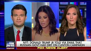 Happening Now Fox News reacts to Donald Trump Jr. emails