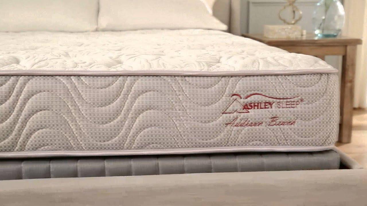 ashley sleep addison beach mattress youtube
