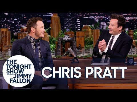 Download Youtube: Jimmy Gives Chris Pratt a Nickname for the Jurassic World Franchise