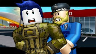 THE LAST GUEST GETS ARRESTED IN BLOXBURG! (A Roblox Bloxburg Roleplay Story)