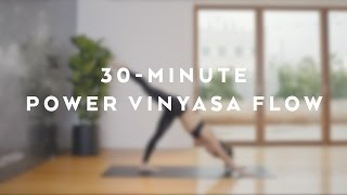 30-Minute Power Vinyasa Flow with Briohny Smyth
