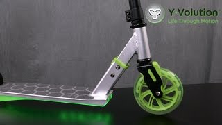 Neon Flash Scooter from Yvolution